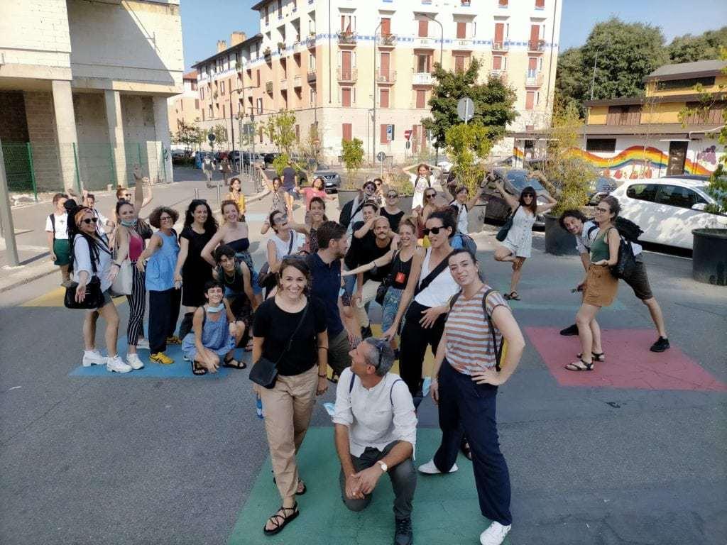 Milano e gli spazi pubblici: U-Rise alla scoperta di una città, tra bike-tour e urbanistica tattica